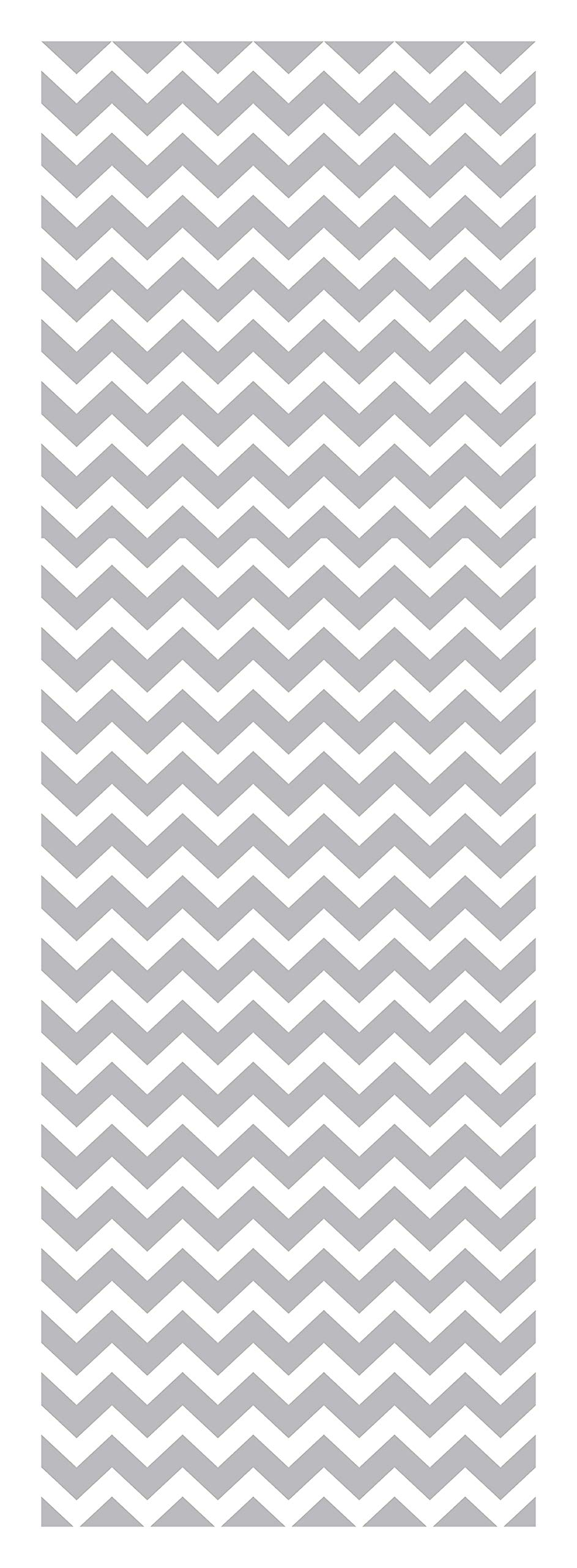 Locker Designz Back to School Magnetic Locker Chevron Wallpaper, Gray