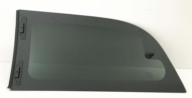 NAGD for 2008-2017 Dodge Grand Caravan Mini Van Passenger//Right Side Movable Quarter Window Replacement Glass