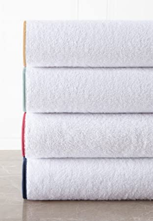 Amazoncom Bathroom Towel Set By Macouba 600 Gsm White Bath Towels