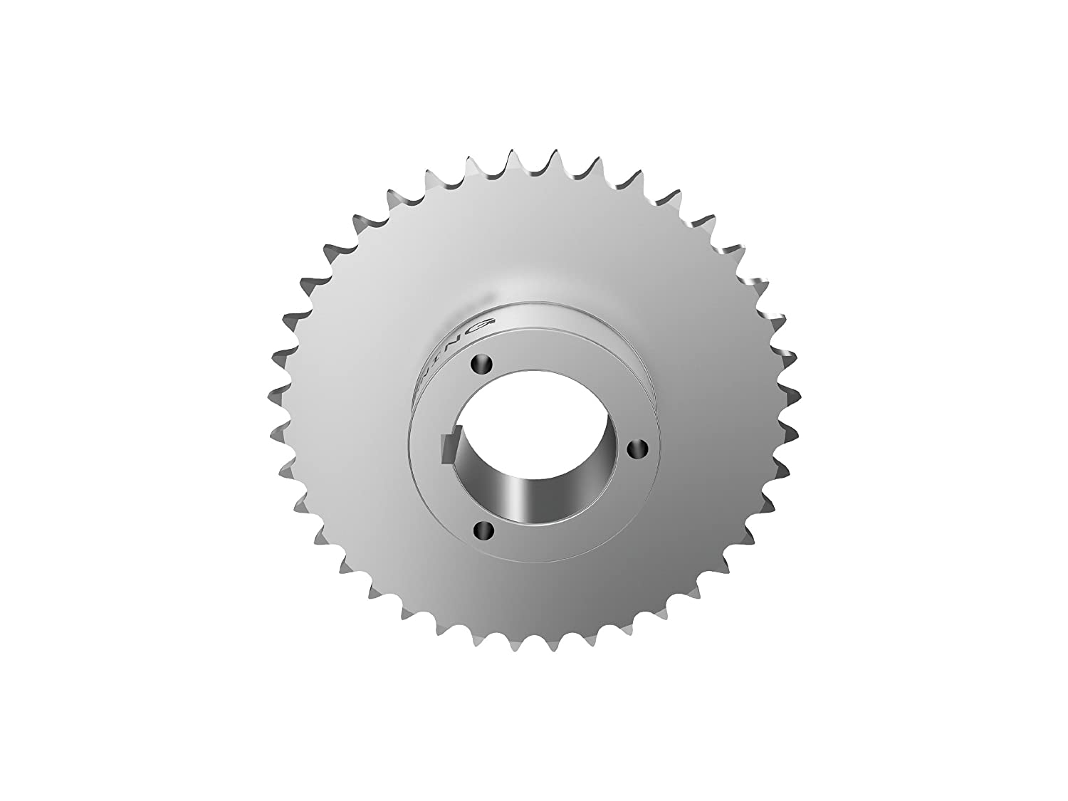 Browning 60Q60 Roller Chain Sprocket, Single Strand, Split Taper, Bushed, Steel, 60 Pitch, 60 Teeth Regal
