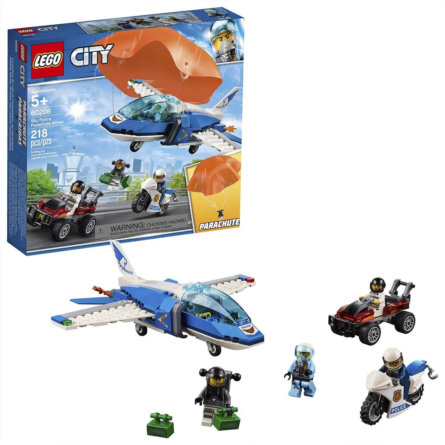 LEGO City - Police Policía Aérea: Arresto del Ladrón Paracaidista ...