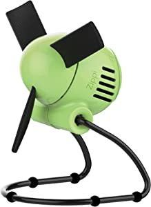 Vornado Zippi Small Personal Fan for Desk, Nightstand, Tabletop, Travel and More, Sublime Green