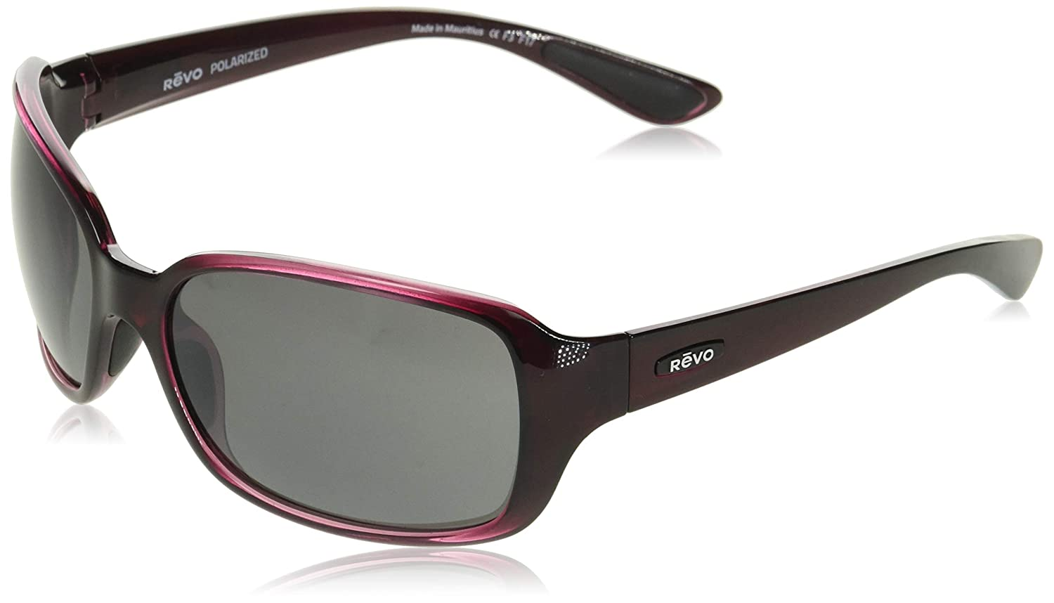Revo Unisex Unisex RE 1042  Fairway Wraparound Polarized UV Protection Sunglasses Revo Sunglasses