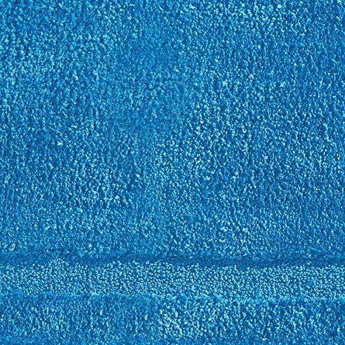 "InterDesign Microfiber Spa Bathroom Accent Rug, 34"" x 21'' Inches, Azure by InterDesign (Image #2)"