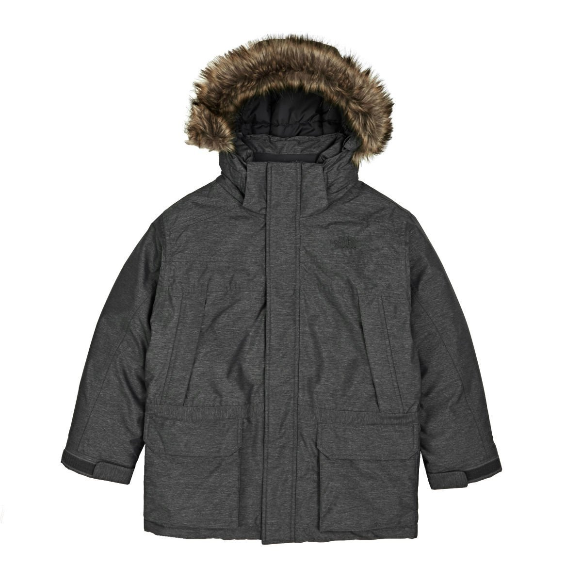 The North Face BOYS MCMURDO DOWN PARKA color: TNF MEDIUM GREY HEATHER size: LG (14-16 Big Kids) by The North Face (Image #1)