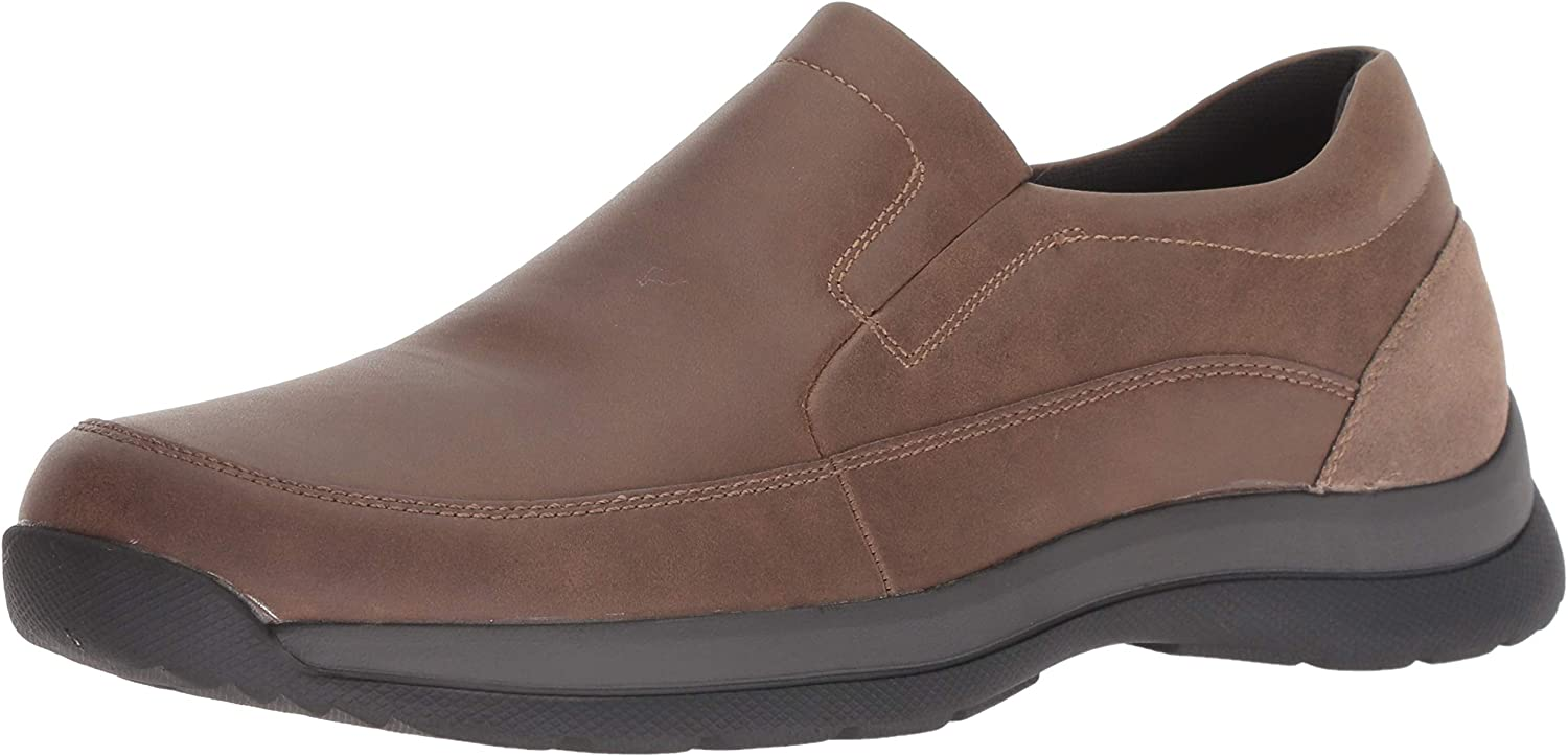 Dockers Mens Easley Genuine Leather Rugged Casual Outdoor Slip-on Loafer Shoe