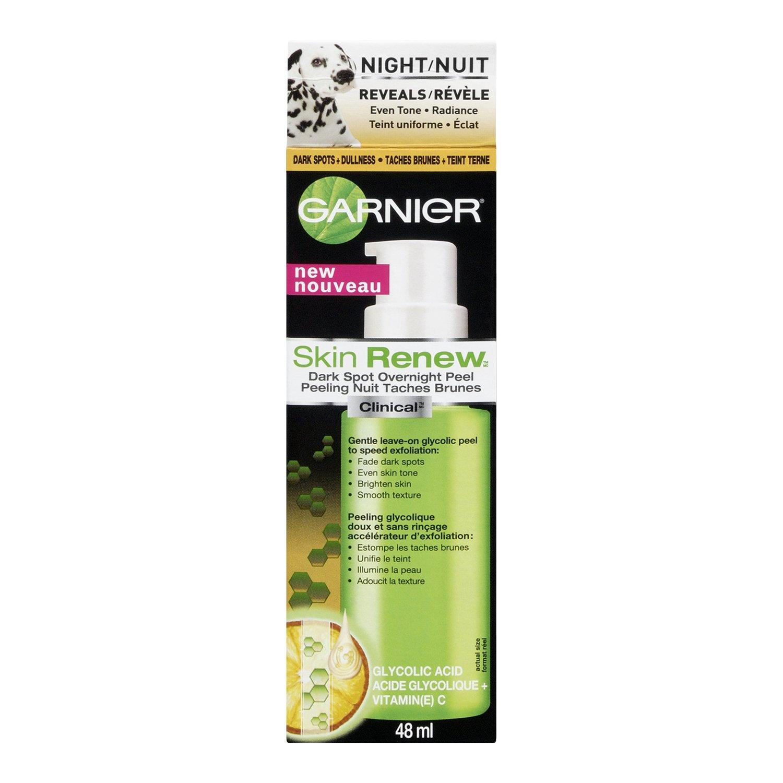 Amazon.com : Garnier Skin Renew Clinical Dark Spot Overnight Peel ...