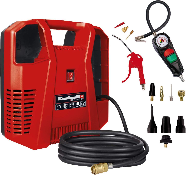Einhell Kompressor Tc Ac 190 8 Kit Einhell Aufblas Adapter Set Passend Für Kompressoren 8 Teilig Baumarkt