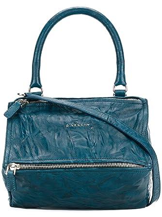 5854a2786166 Givenchy Women s BB05251004421 Light Blue Leather Handbag  Amazon.co.uk   Clothing