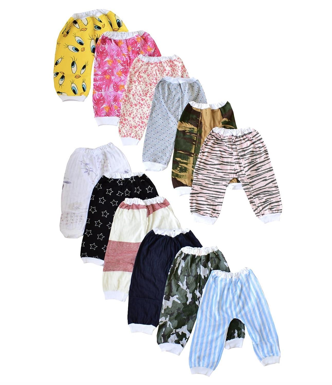 ISAKAA 12 Baby Cotton Pajamas and Pants