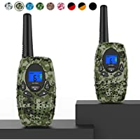 Two Way Radios Camping Accessories, Topsung M880 FRS Walkie Talkies for Adults Long Range with Mic LCD Screen/Portable…