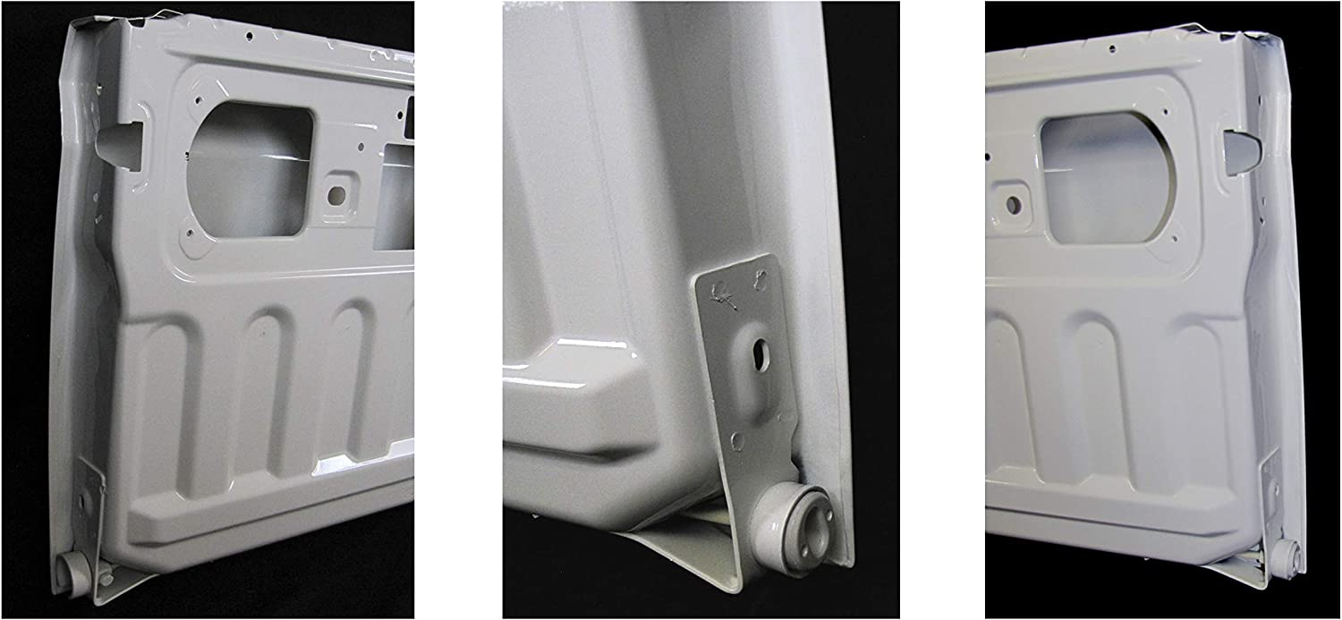 Bundle Fits 2009-2018 Dodge Ram 1500//2010-2018 Ram 2500 3500 Rear Tailgate Painted Bright White W7 CH1900129