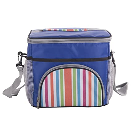 4236538b14f7 Amazon.com: Funnuf Large Insulated Lunch Beach Tote Bag Cooler ...