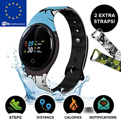 Motus Color Smartwatch [Destaque de los demás] Fitness con Estilo ...