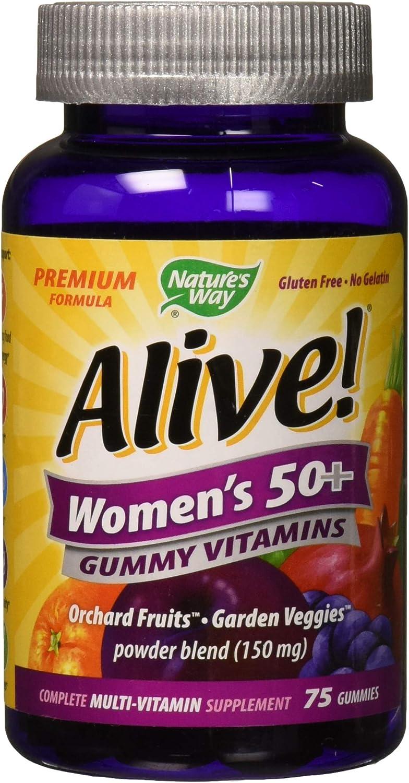 Nature's Way Alive! Women's 50+ Premium Gummy Multivitamin
