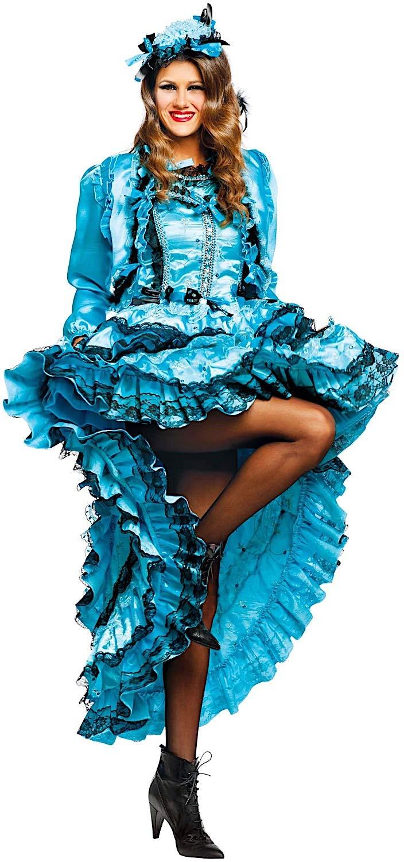 e8ba8ba32347 Costume di Carnevale da Lady Burlesque Vestito per Donna Donna Donna Adulti  Travestimento Veneziano Halloween Cosplay Festa Party 50528 Taglia S 9e0303