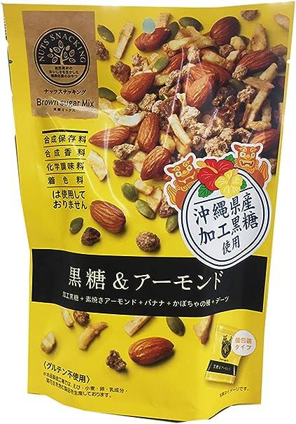 MD ナッツスナッキングBM 黒糖&アーモンド 79g ×3袋