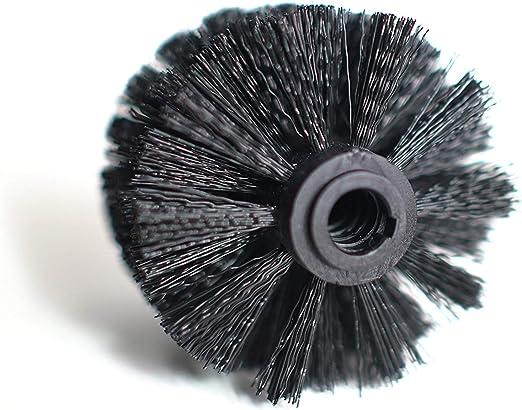 2 escobillas de repuesto de 8 cm Badiona color negro