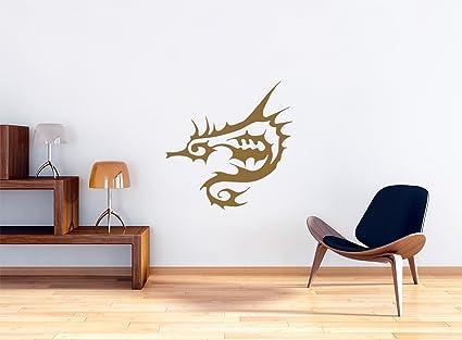 Cavallucci marini muro tribal tattoo murale autoadesivi della