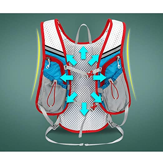 Amazon.com : WINOMO Hydration Pack Backpack 12L Outdoor Mochilas Hydration Vest for Marathoner(Blue) : Sports & Outdoors