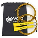 WOD Nation Speed Jump Rope - Blazing Fast...