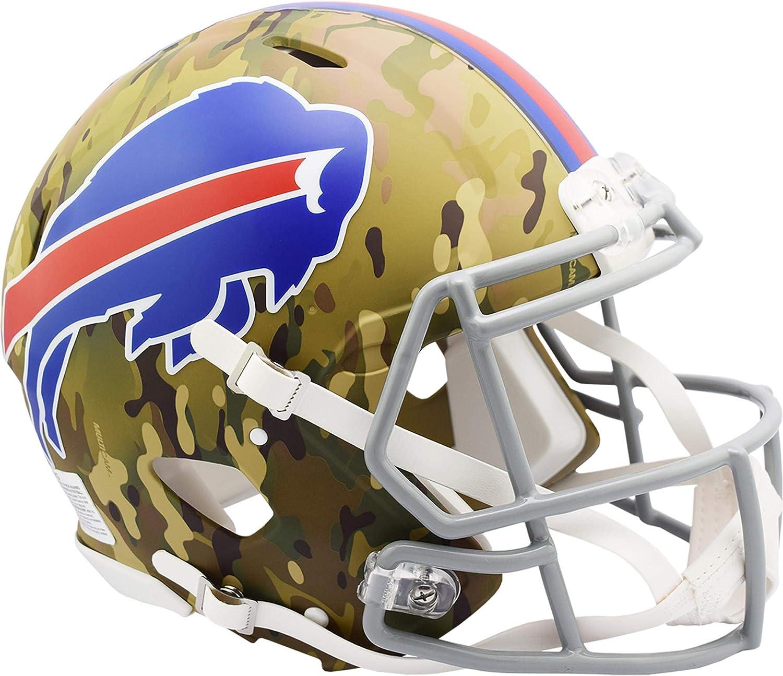 GRAY BUFFALO BILLS Riddell Speed S2BD Football Helmet Facemask//Faceguard