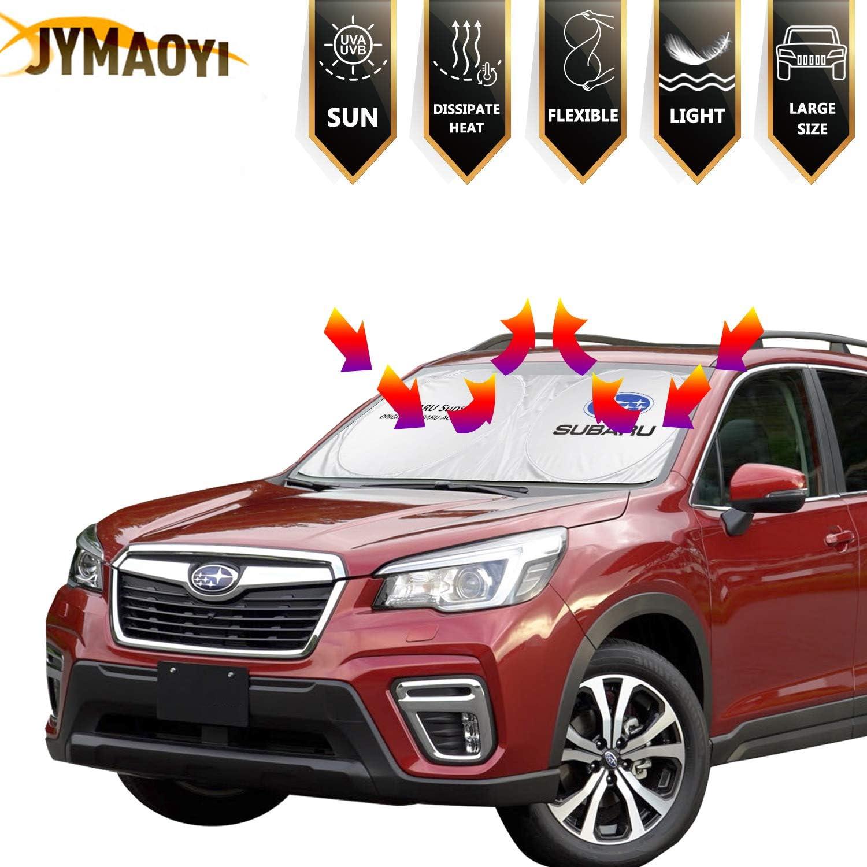 JYMAOYI for Subaru Sunshade for GTR Windshield Visor Cover Car Window Sun Shade UV Protect Car Window Film for Most Subaru Ascent Forester Impreza Legacy Outback Tribeca XV Crosstrek