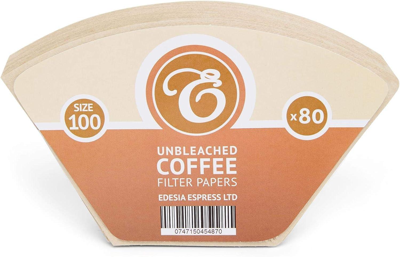 Para Aromaboy de Melitta Tipo cono Sin blanquear Tama/ño 100 Pack de 80 filtros de papel para caf/é