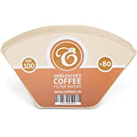 Pack de 80 filtros de papel para café