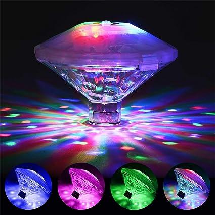 Amazon.com : Coquimbo Swimming Pool Lights, Floating LED Pond Lights ...