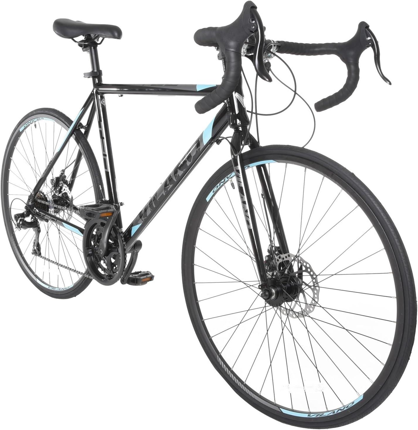 Vilano TUONO 2.0 Aluminum Road Bike Shimano 21 Speed Disc Brakes 700c