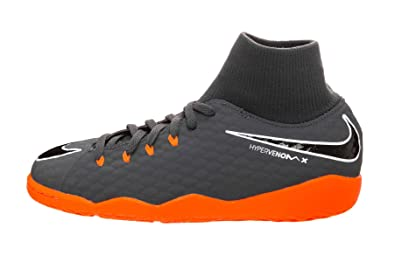 1811b02b3 Nike Youth Hypervenom Phantomx 3 Academy DF Indoor Shoes  Dark Grey  (1.5Y