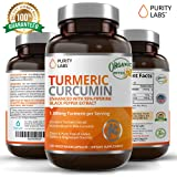 Certified Organic Turmeric Curcumin Supplement 120 Count 1100mg Tumeric capsules per Serving with 95% Curcuminoids and Piperine Black Pepper Extract Non-GMO Gluten-Free Increased Bioavailability