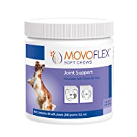 Virbac - MOVOFLEX Soft Chews Dog Joint Supplement [up to 40 lb – 40-80 lb – Over 80 lb] (60 ct.)