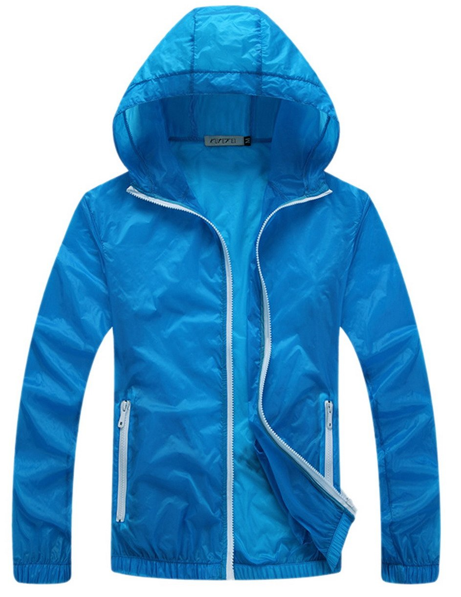 Panegy Outdoor Lightweight Dri-fit Skin Jacket Quick-dry Sun Protect Windbreaker for Men & Women