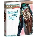CRAFTIVITY Macramé-Zing Bag - Makes One Cross-Body Bag - Crafts for Teens