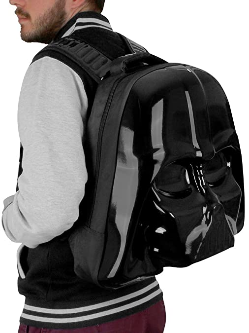STAR WARS Star Wars The Force Awakens Darth Vader Mask 3D Shaped Backpack (Bp091408Stw) Mochila tipo casual 45 centimeters Negro (Black): Amazon.es: Ropa y ...
