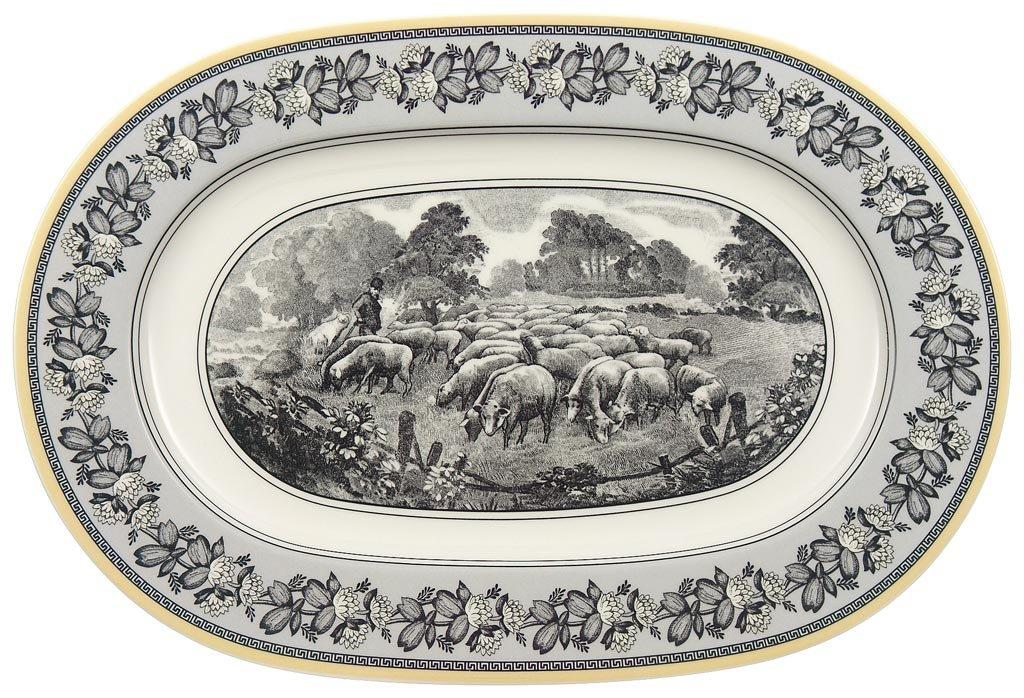 Villeroy & Boch Audun Ferme 13-1/4-Inch Oval Platter