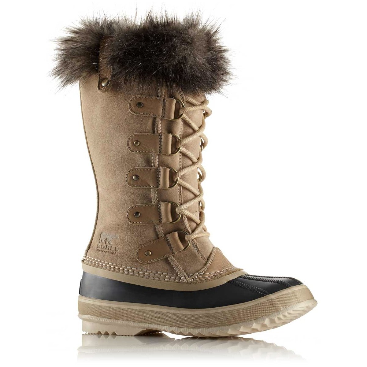 SOREL Women's Joan Of Arctic Boots, Oatmeal, 8 B(M) US