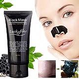 LuckyFine 1Pcs blackhead remover cleaner detergente purificante peel off acne nero fango maschera