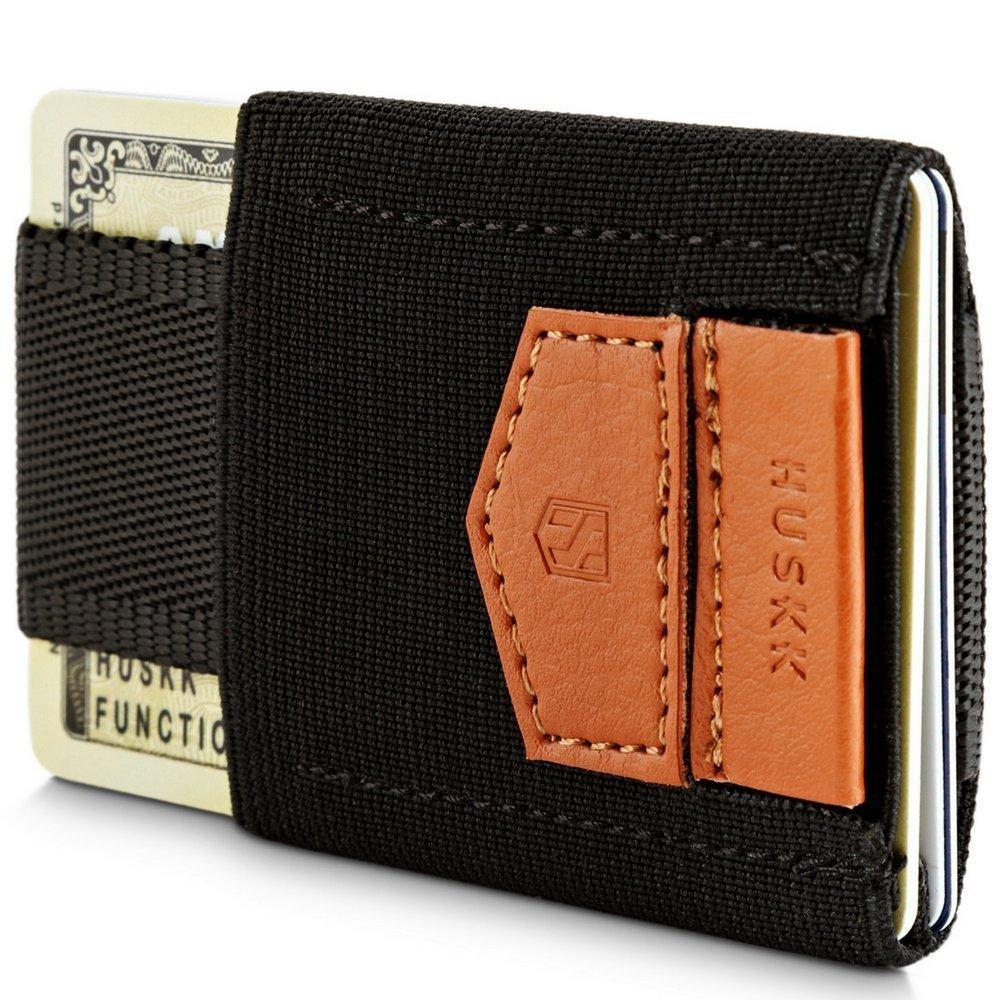 Wallets for Men - Mens Wallet - Slim Small Thin Minimalist Card Holder Wallet [ECSC-B]