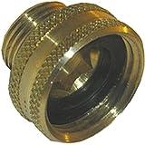LASCO 15-1701 3/4-Inch Female Garden Hose by 1/2-Inch Male Pipe Thread Brass Adapter