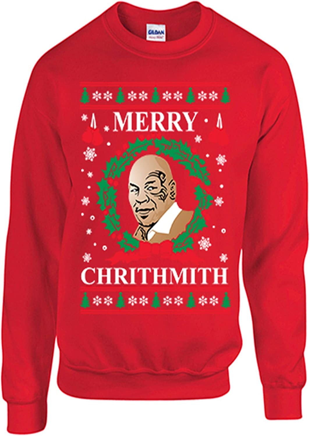 Merry Chrithmith Ugly Christmas Men/'s T-shirt 2017 Xmas Party Funny Tee
