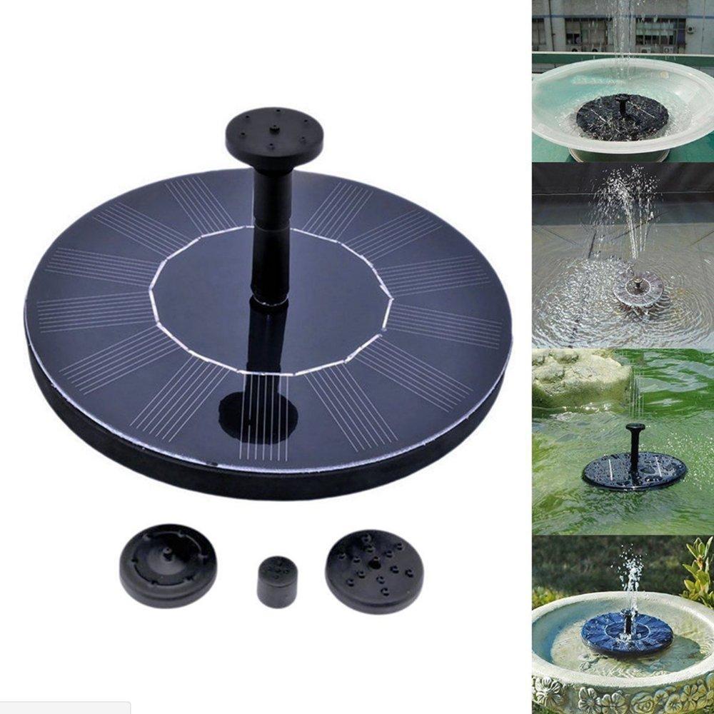 Fontaine flottante Asdomo pour oiseaux - Pour un étang, un bassin comme décoration de jardin