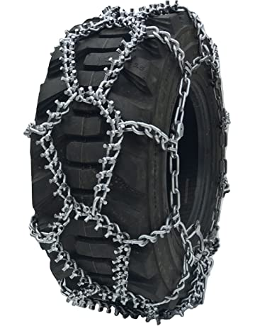 TireChain.com 9.5-24 9.5 24 Double Ring Nuway Tractor Tire Chains