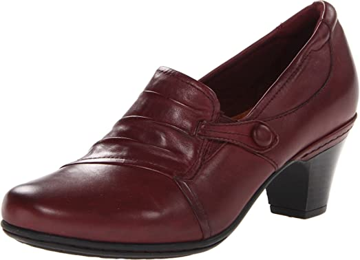 Rockport Cobb Hill Women's Sandy Pump,Merlot,10 ...