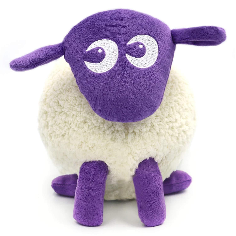 Sweet Dreamers, Ewan The Dream Sheep, Purple - Baby White/Pink Noise Machine and Sleep Aid with Night Light