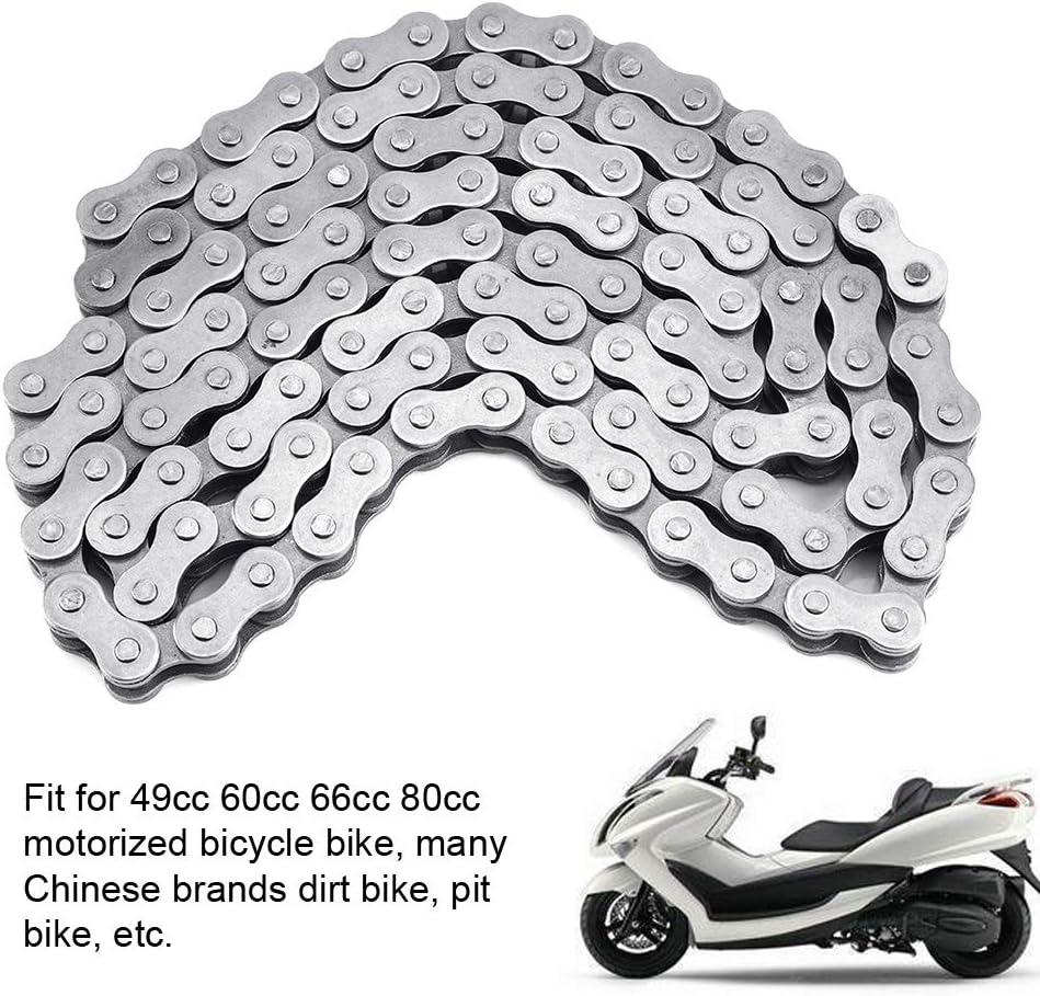 EBTOOLS Catena di collegamento in acciaio inossidabile 415-110L di alta qualit/à per motore 49cc 60cc 66cc 80cc motorizzato