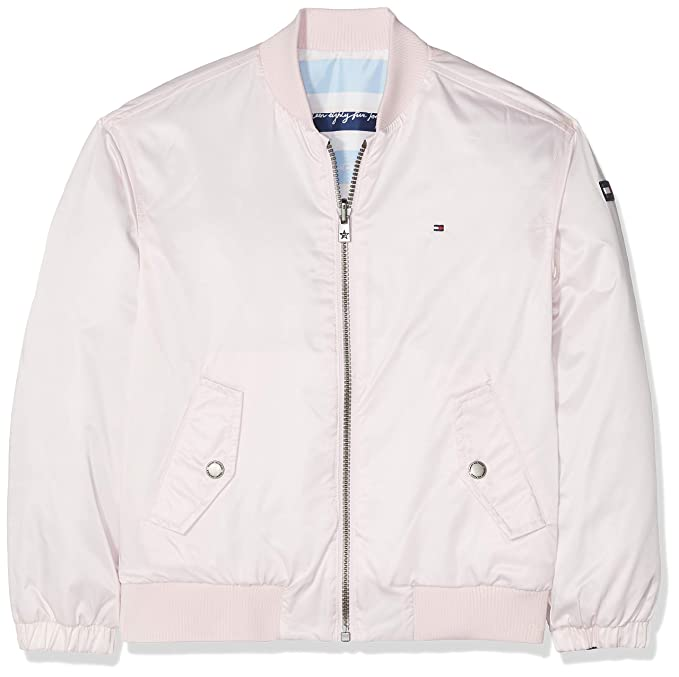 Tommy Hilfiger Endearing Reversible Bomber, Chaqueta Niñas ...