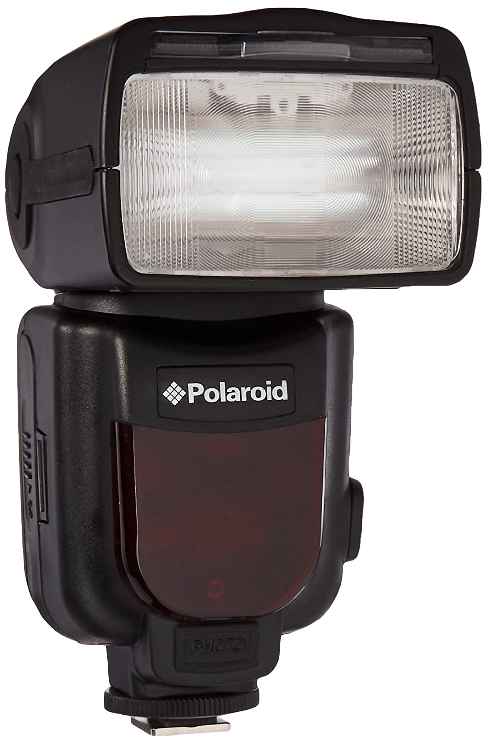 Polaroid Professional Hot Shoe Flash For All Nikon DSLR Cameras, Wireless & TTL With LCD Display PL190N